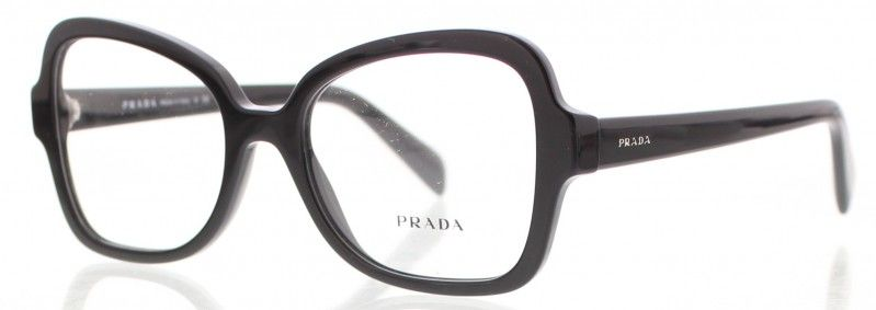 4f69f6406eeae Lunette de vue PRADA PR-25SV 1AB1O1 femme - prix 175€ - KelOptic ...