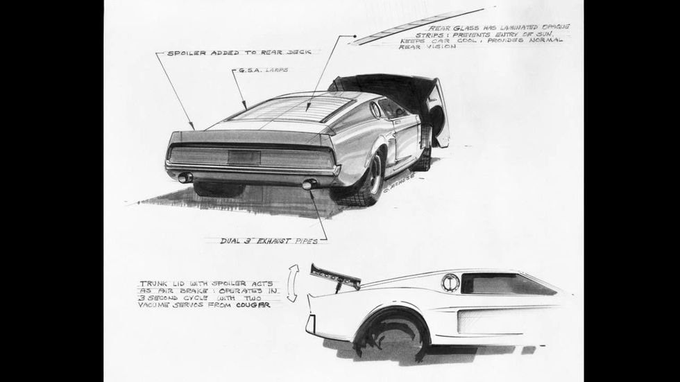 1966 Ford Mustang Mach 1 Concept In 2020 Ford Mustang American Muscle Cars Mustang Muscle Cars