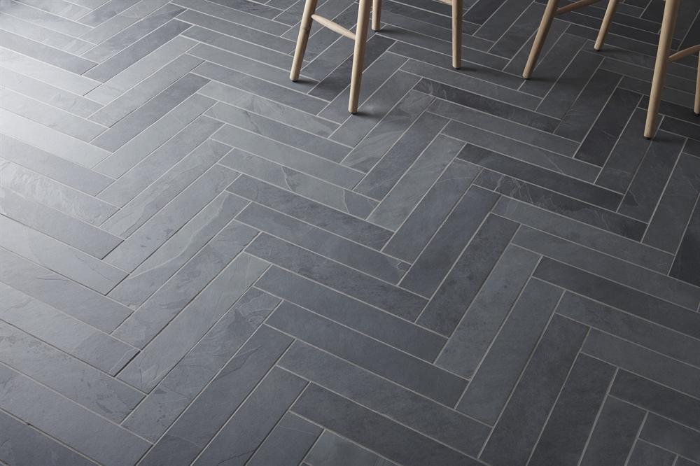 Honister Slate Tiles Black Neptune Modern Floor Tiles Tile Floor Slate Tile Floor