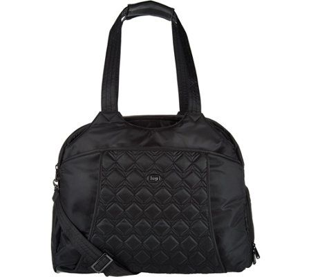 Lug Quilted Travel Bag With Rfid Pontoon