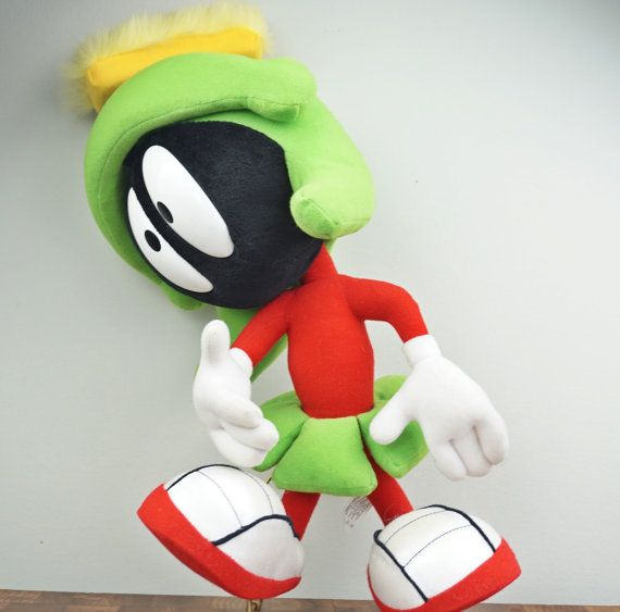 Marvin The Martian Vintage Stuffed Toy by LittleRiverVintage
