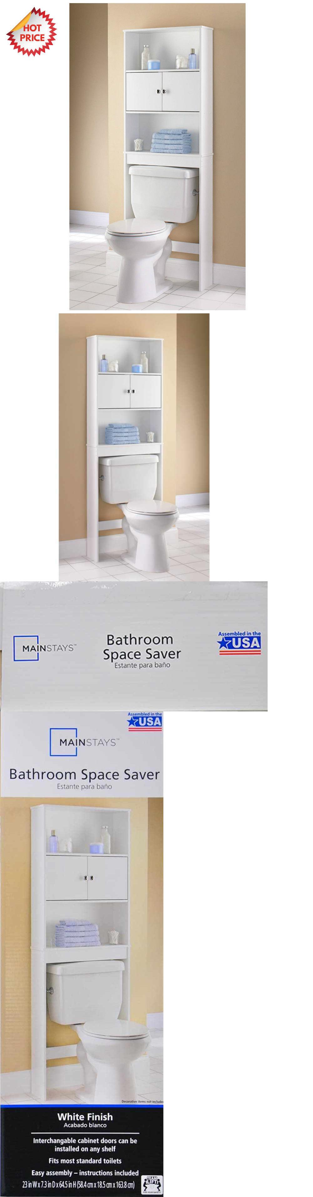 Over The Toilet Bathroom Organizers bath caddies and storage 54075: 3 shelf bathroom organizer over