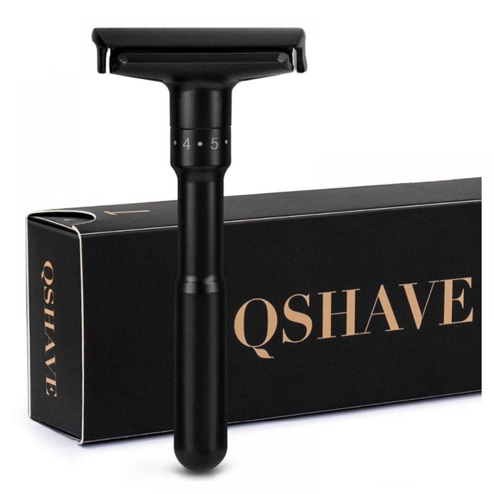 QShave Men's Luxurious Shaving Razor With Adjustable