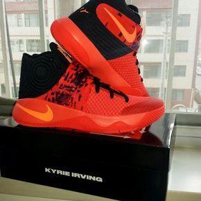 new styles 58781 3dac9 Nike-Kyrie-2-Inferno-Bright-Crimson-Atomic-Orange-Black-6+