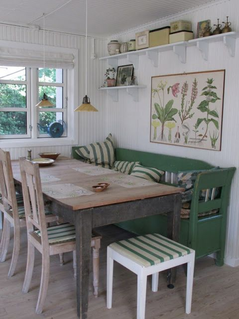 Note the mix of wood colors \u2026 Pinteres\u2026 - einrichtungsideen sitzecke in der kuche