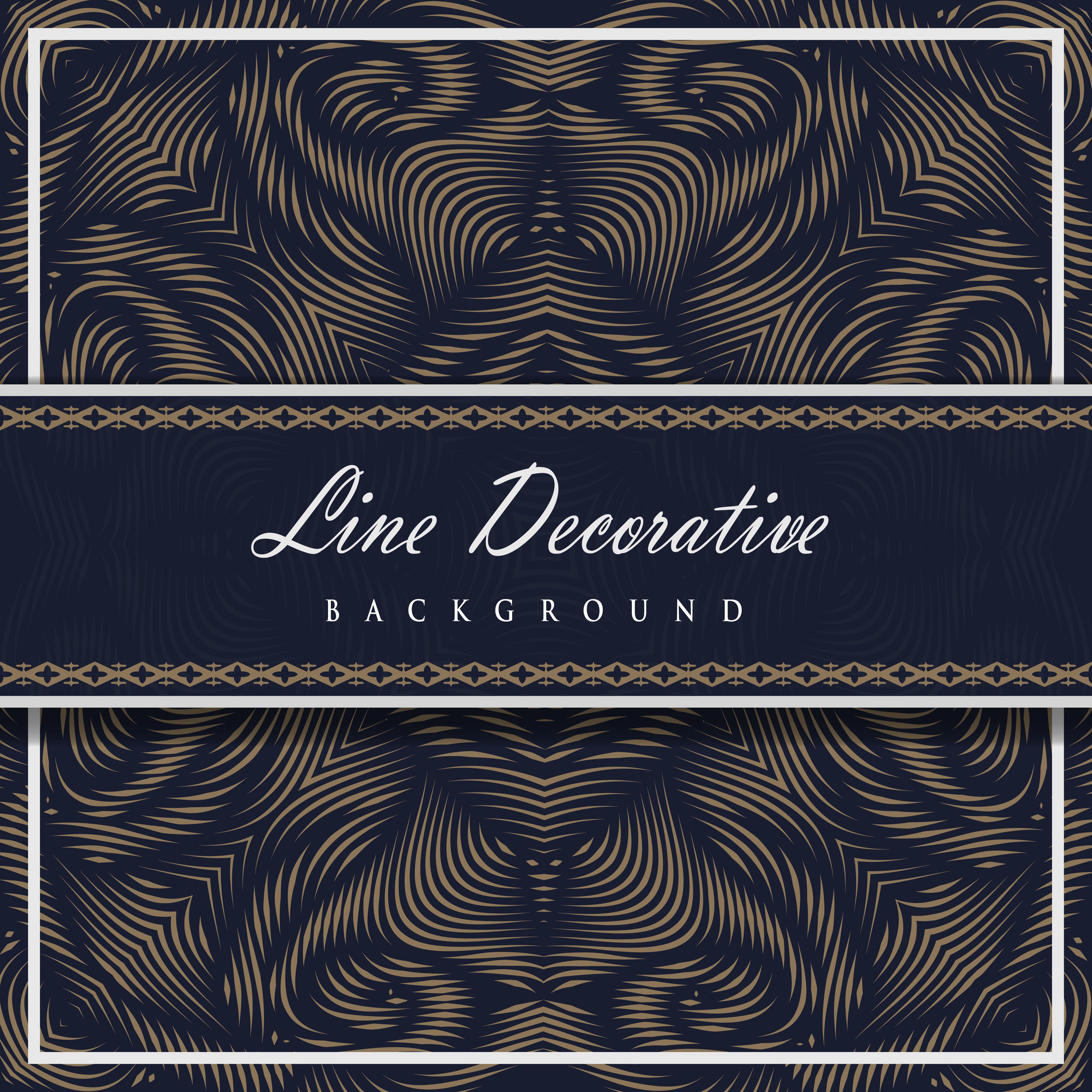 Line Decorative Pattern Background