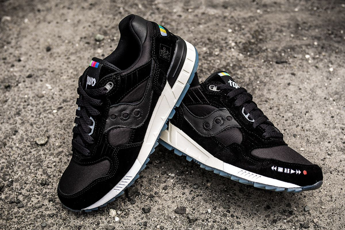 "new arrival e9d9d 043fd The Good Will Out x Saucony Shadow 5000 ""VHS"" 
