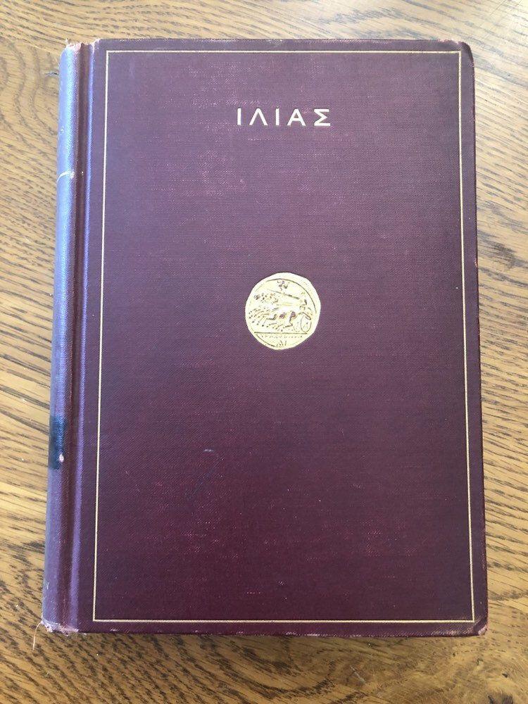 The Illiad By Homer Greek Books 1 3 Sterrett American Book Etsy Homer Greek Homer Vintage Candlesticks