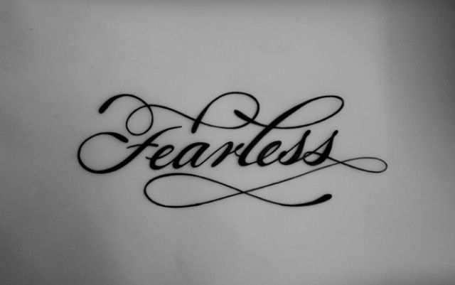 Pin By Tifanie Kelly On Fearless Tattoo Fearless Tattoo Wrist Tattoos Words Meaningful Wrist Tattoos Black white calligraphy fearless iphone