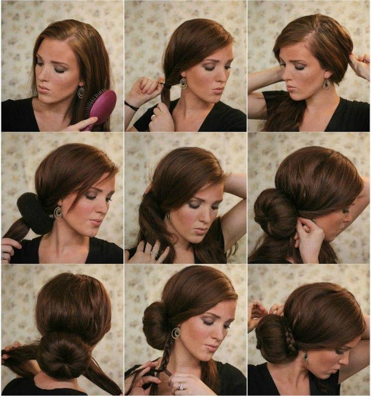 Silvester Machen Frisuren Selbst 7 Einfache Anweisungen Fur Langes Haar Anwei Zopf Frisuren Leicht Dutt Frisur Anleitung Frisuren Lange Haare Selber Machen