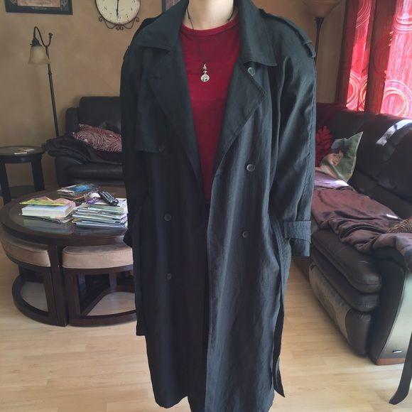 e5dd13dd2669 Long David Benjamin Womens raincoat Black