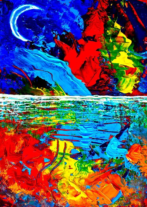 """Moonlight Drive""  Print: $25     https://www.facebook.com/pages/Art-of-Murf/250767048299038?ref=hl      https://twitter.com/artofmurf"