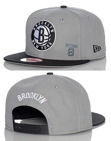 dc6deb4a466 NEW ERA Basketball snapback cap Adjustable strap on back of hat for  ultimate comfort Embroidered Brooklyn Nets team logo on front Jimmy Jazz  Exclusive