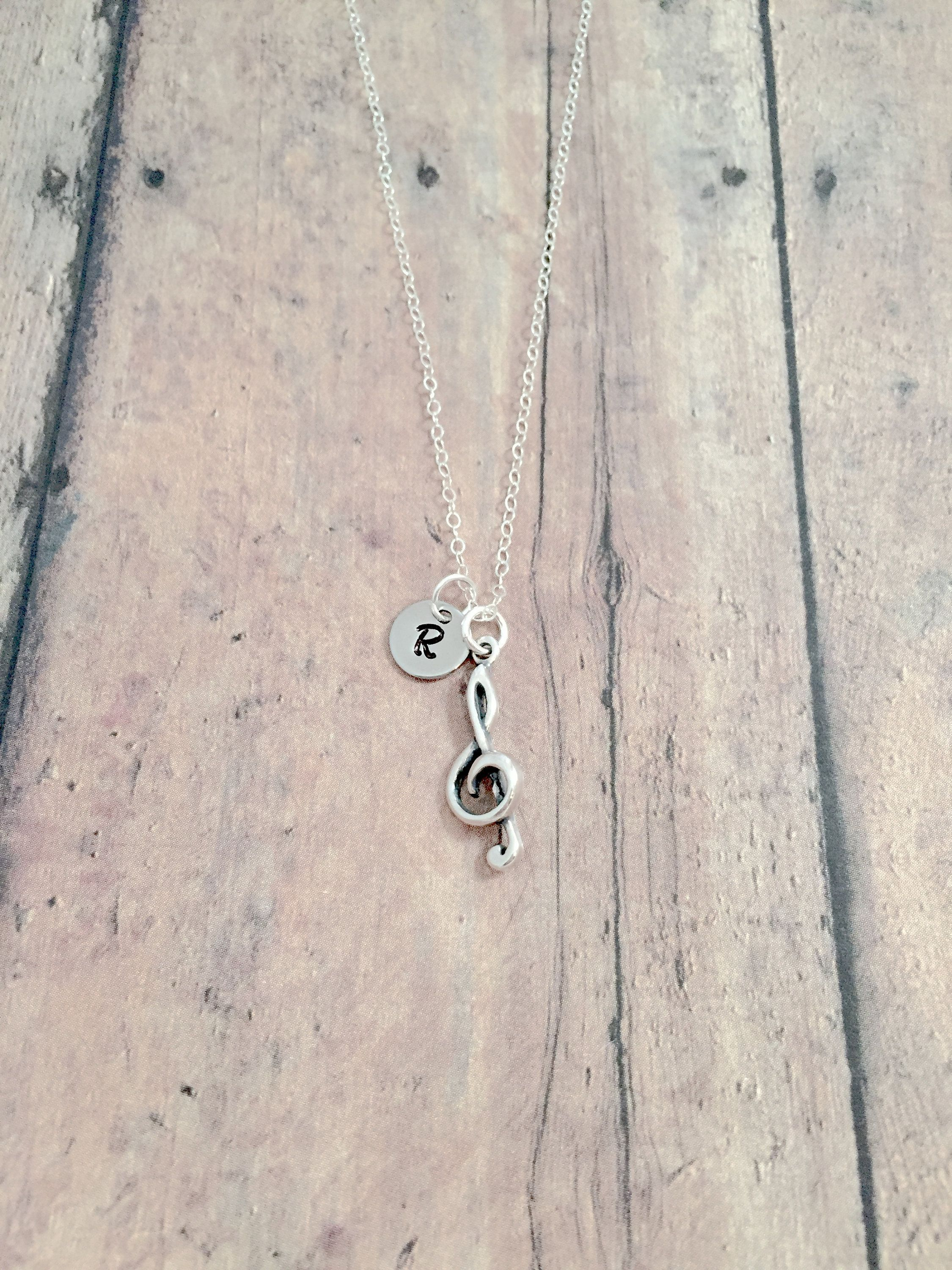 Treble clef initial necklace (sterling silver) - treble clef jewelry, music jewelry, band jewelry, treble clef necklace, treble clef gift #trebleclef Treble clef initial necklace (sterling silver) - treble clef jewelry, music jewelry, band jewelry, treble clef necklace, treble clef gift #trebleclef Treble clef initial necklace (sterling silver) - treble clef jewelry, music jewelry, band jewelry, treble clef necklace, treble clef gift #trebleclef Treble clef initial necklace (sterling silver) - t #trebleclef