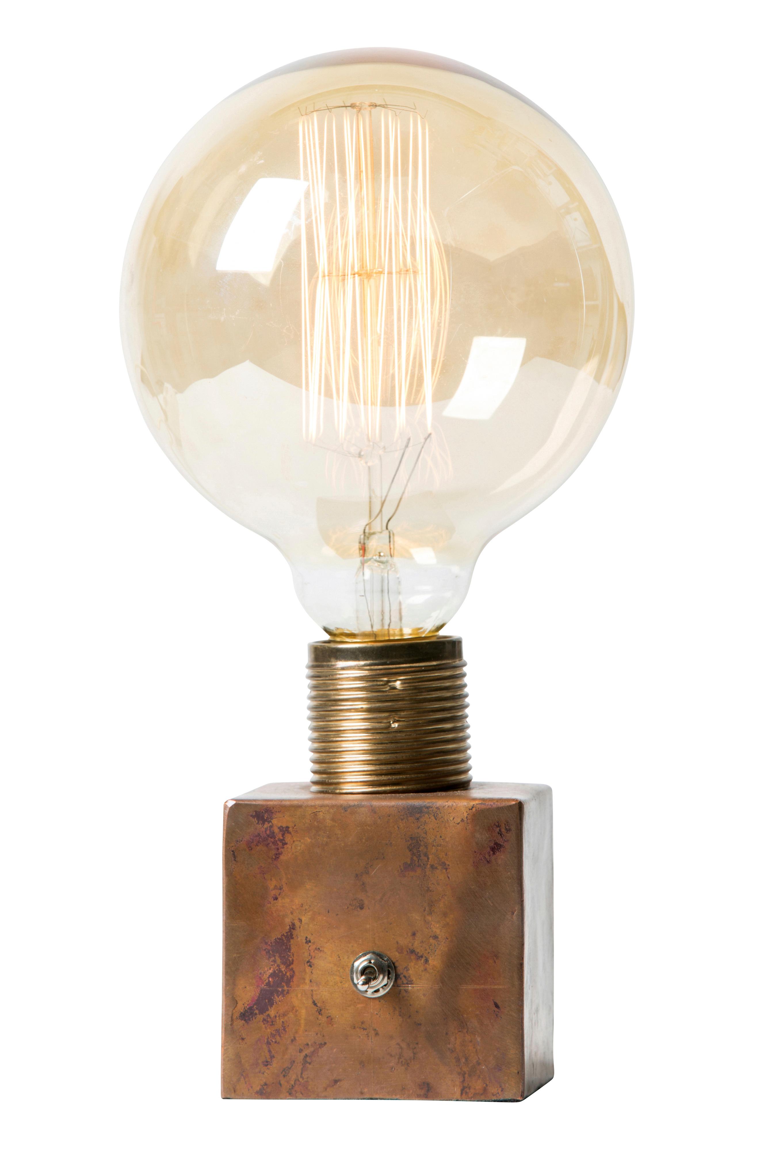 Lampfot Krille Glodlampa Lampor Koppar