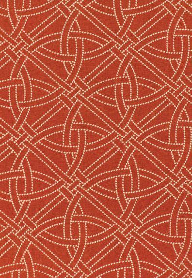 FSchumacher Fabric 55690 Durance Embroidery Bittersweet