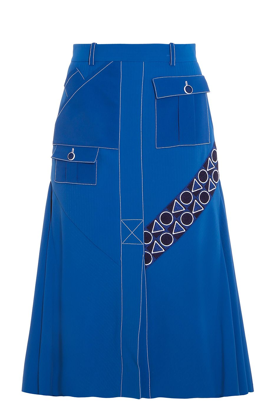 PETER PILOTTO Pocket Midi Skirt. #peterpilotto #cloth #