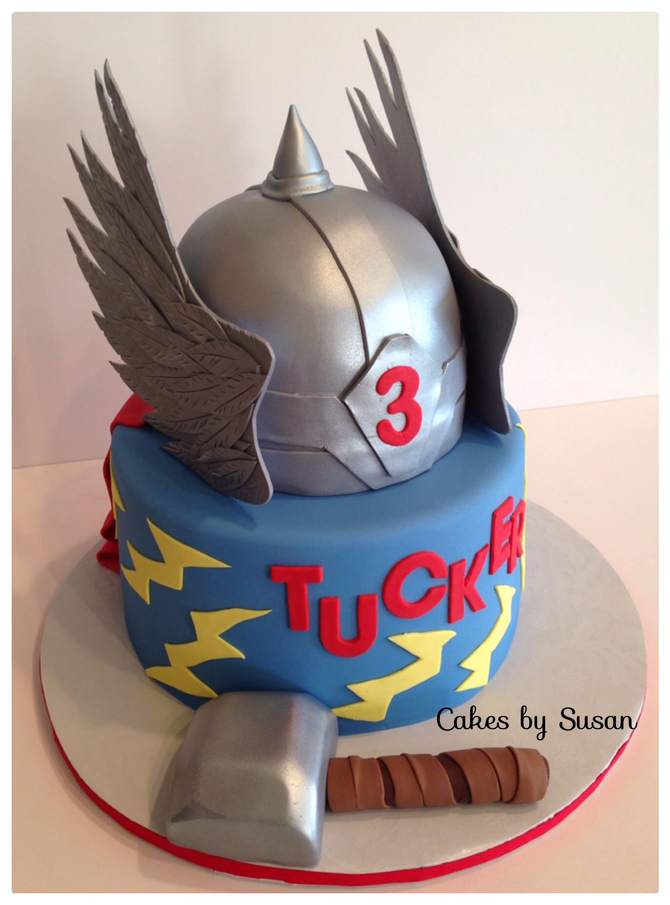 Thor Birthday Cake Cakes Pinterest Birthday Cakes Birthdays