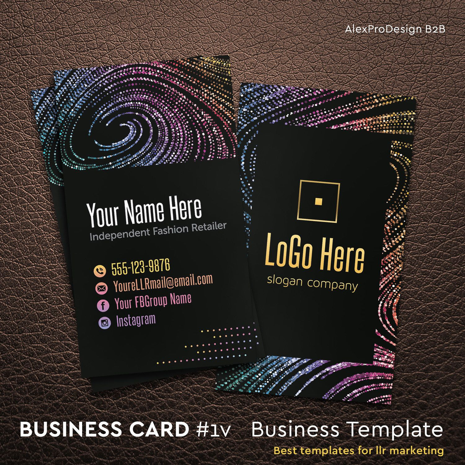 Business cards llr marketing personalize home office approved business cards llr marketing personalize home office approved fonts and color fashion consultant digital cards business card 1v2 reheart Gallery
