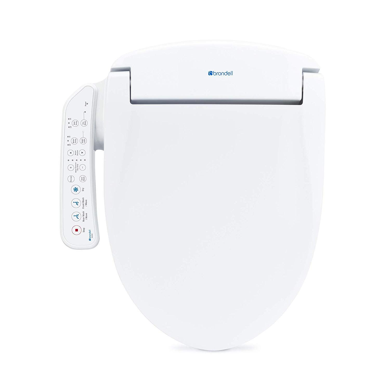 Brondell Swash Se400 Elongated Bidet Seat With Air Dryer And