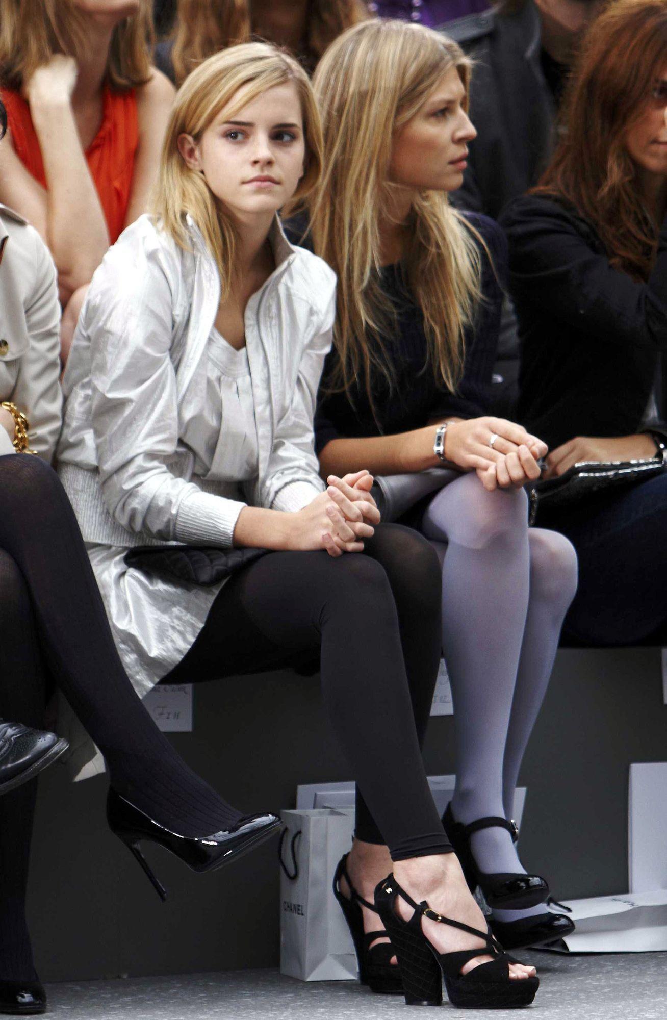 Paris Fashion Week Chanel 044 I Heart Watson Emma Watson Paris Fashion Week Mommy Daughter Photos