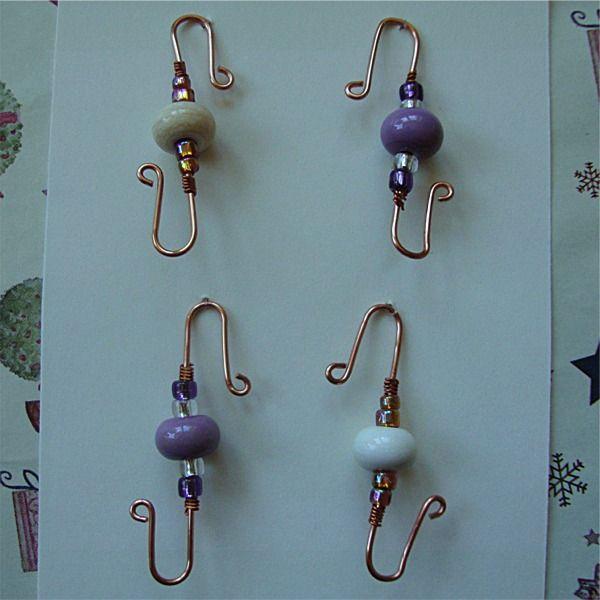 Christmas Bauble Hook £6.95 | Diy ornament covers | Pinterest ...