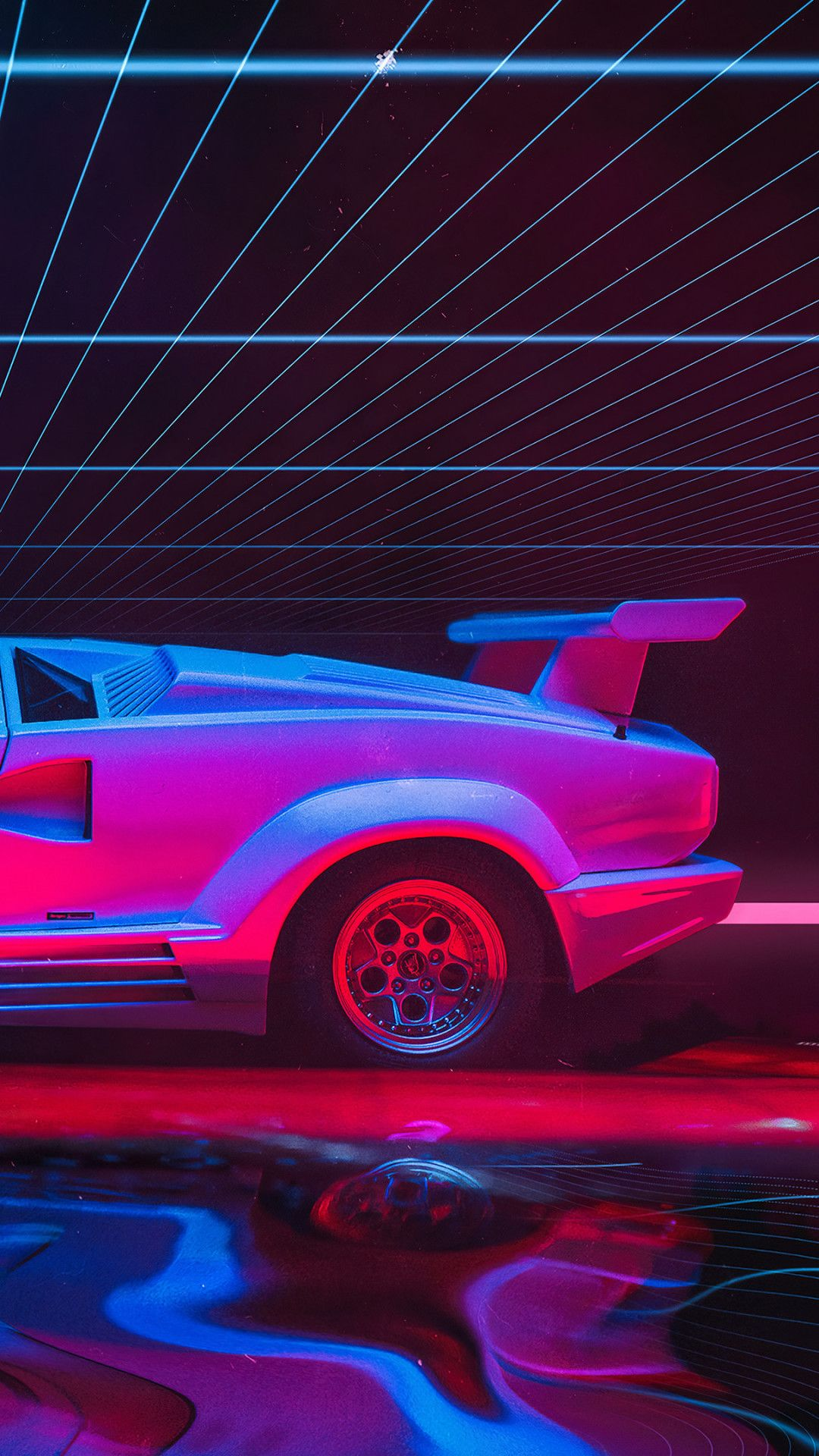 Lamborghini Countach Abstract Art 4k Mobile Wallpaper Iphone Android Samsung Pixel Xiao Lamborghini Wallpaper Iphone Lamborghini Countach Mobile Wallpaper