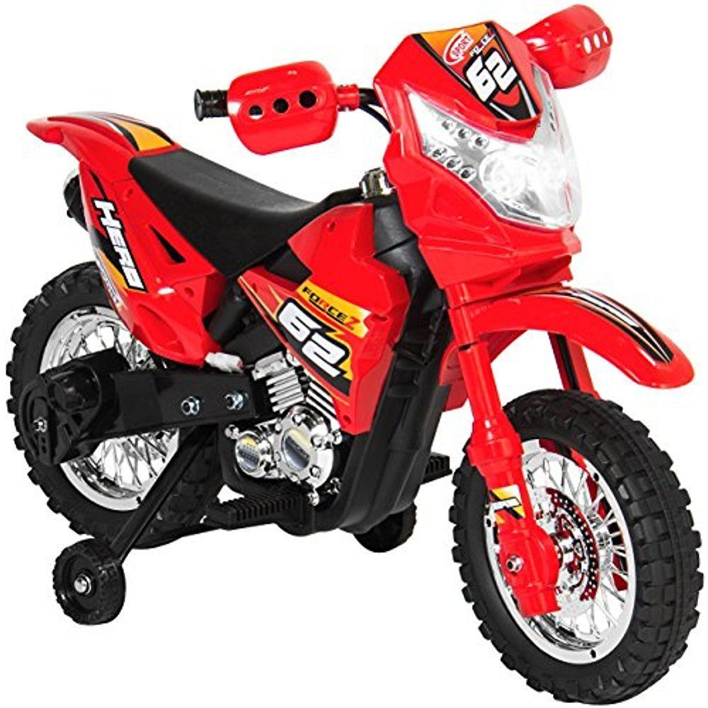 Electric Kids Ride On Motorcycle Dirt Bike W Training Wheels Toys Power Wheels Dirt Bikes For Kids Kids Motorcycle Electric Dirt Bike