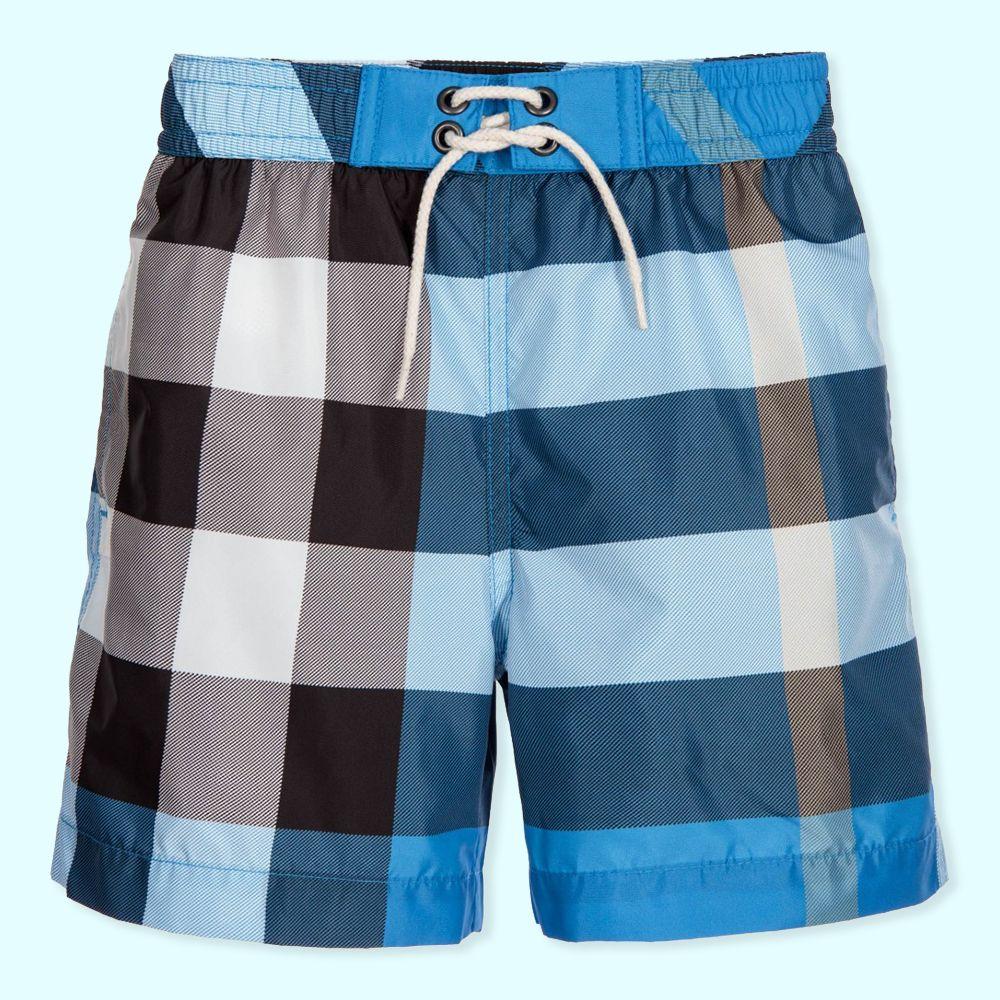 boys burberry swim shorts