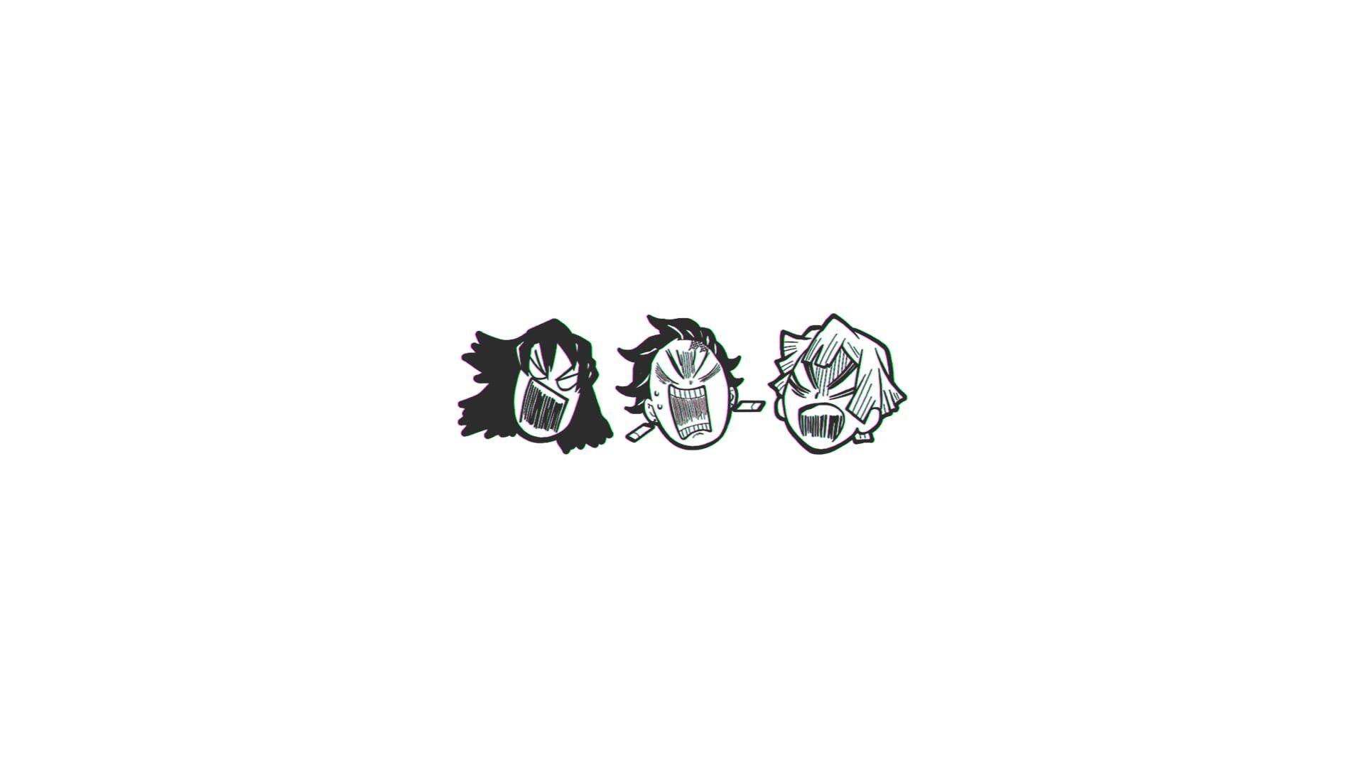 Anime Demon Slayer Kimetsu No Yaiba Inosuke Hashibira Tanjirou Kamado Zenitsu Agatsuma 1080p Wallpaper Hdwallpaper In 2020 Slayer Tattoo Anime Tattoos Anime Demon