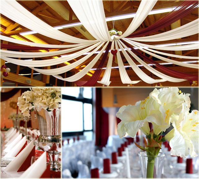 Reception Halls Decorations Wedding