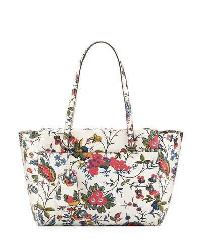 514ecd3448c TORY BURCH Parker Small Floral-Print Tote Bag
