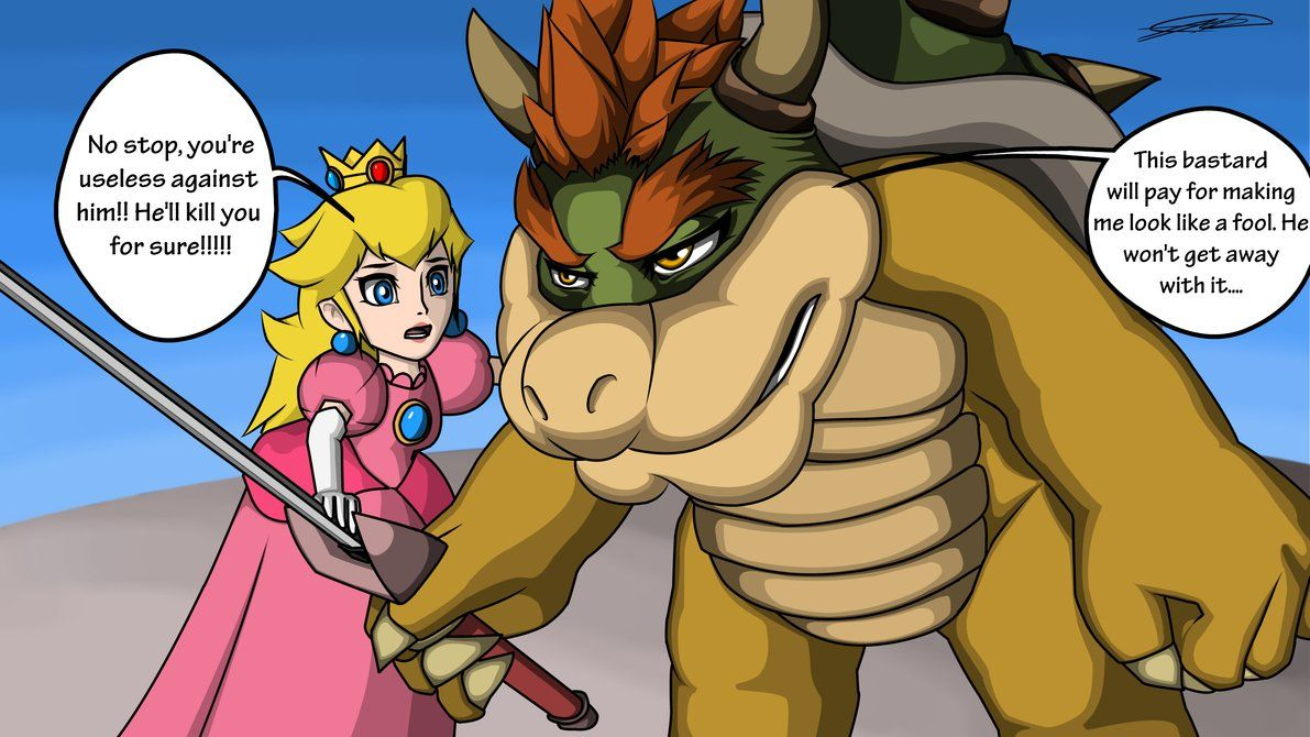Peach and bowser sexy comic pic 885