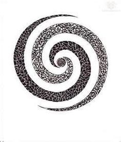 black spiral tattoo - Google Search