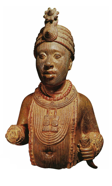 Africa | Ife figure (Oni) from Nigeria | Late 16th century ...