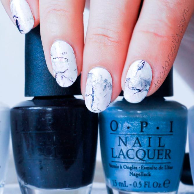 21 Artsy Lovely Nails Designs for a Modern Woman | Modern nails, Gel ...