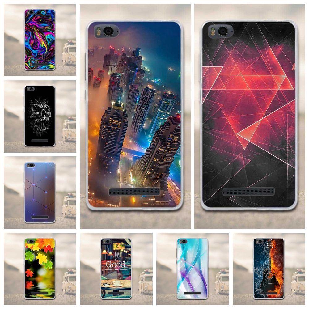 New Arrival TPU Case For Xiaomi Mi4c Mi 4c Soft Silicone Gel Phone Cases 3D Relief Cover for Xiaomi Mi 4i Mi4i Mi4c M4c M4i Bags