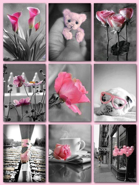 K.E. 19022015 Color splash roze