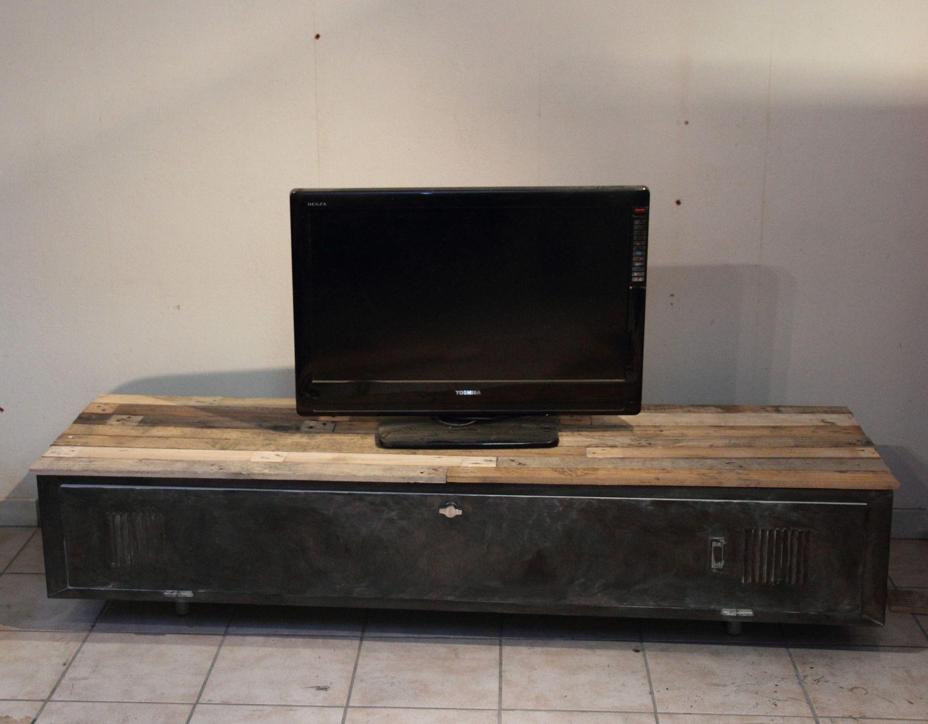 meuble tv industriel f2s sur