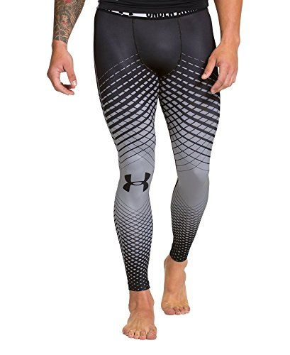 Maestro papa código Morse  Under Armour Men's HeatGear® Sonic Crosshairs Compression Leggings Small  Black Under Armour http://www.amaz… | Mens workout clothes, Mens running  pants, Mens tights