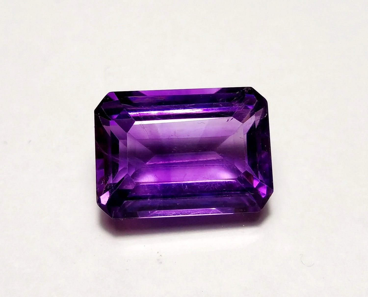 AFRICAN AMETHYST 3 MM SQUARE CUT 6 PIECE SET ALL NATURAL AAA