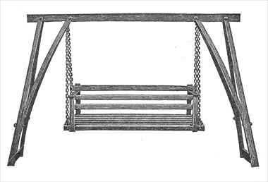 Garden Swing Plans A Lot More Wood Working Projects Porch Swing Plans Lawn Swing Woodworking Projects That Sell