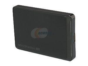 BUFFALO 500GB USB 3.0 Black External Hard Drive HD-PCT500U3/B