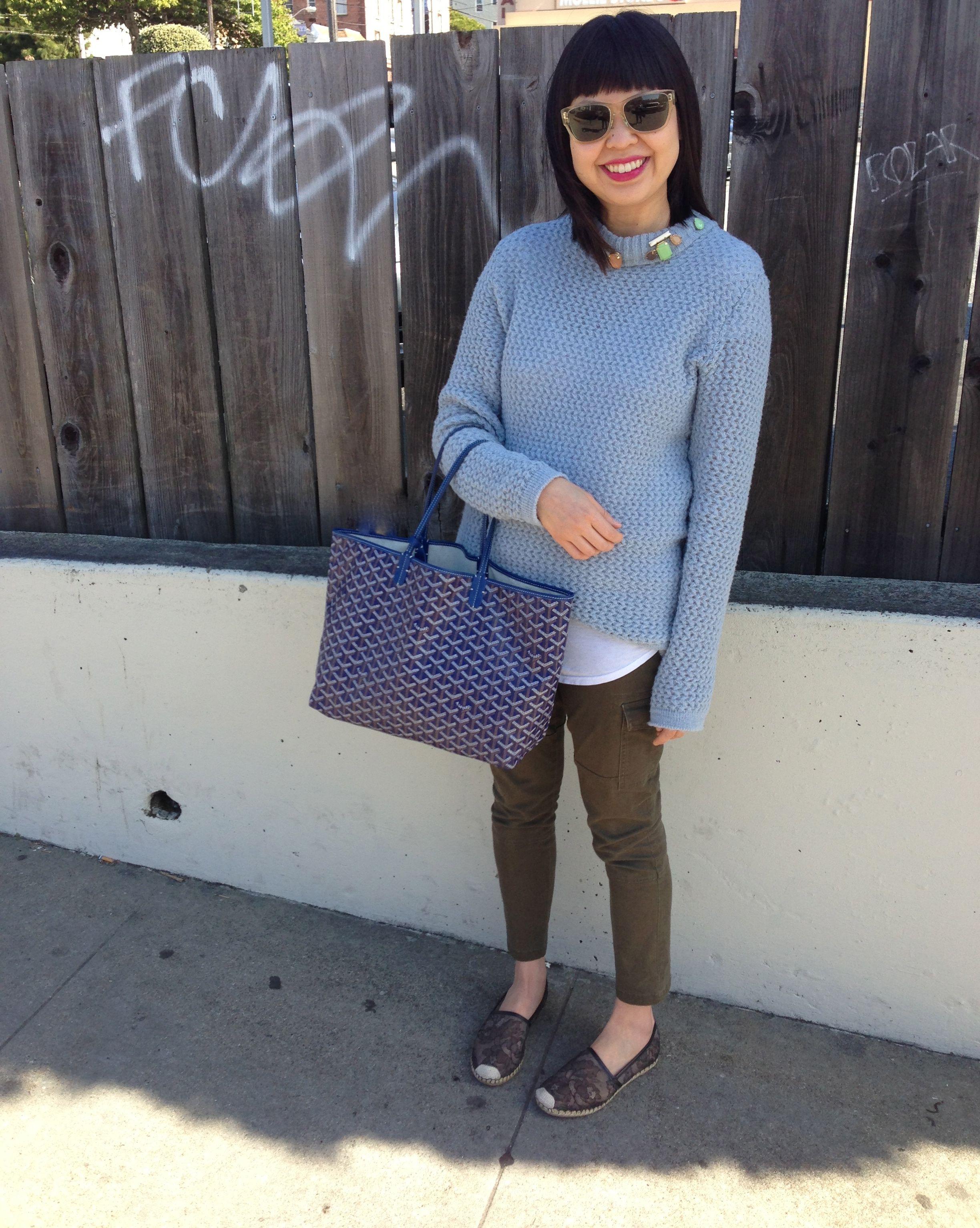 45e001d5 lolo by lako custom sweater and goyard tote bag | Fashionable ...