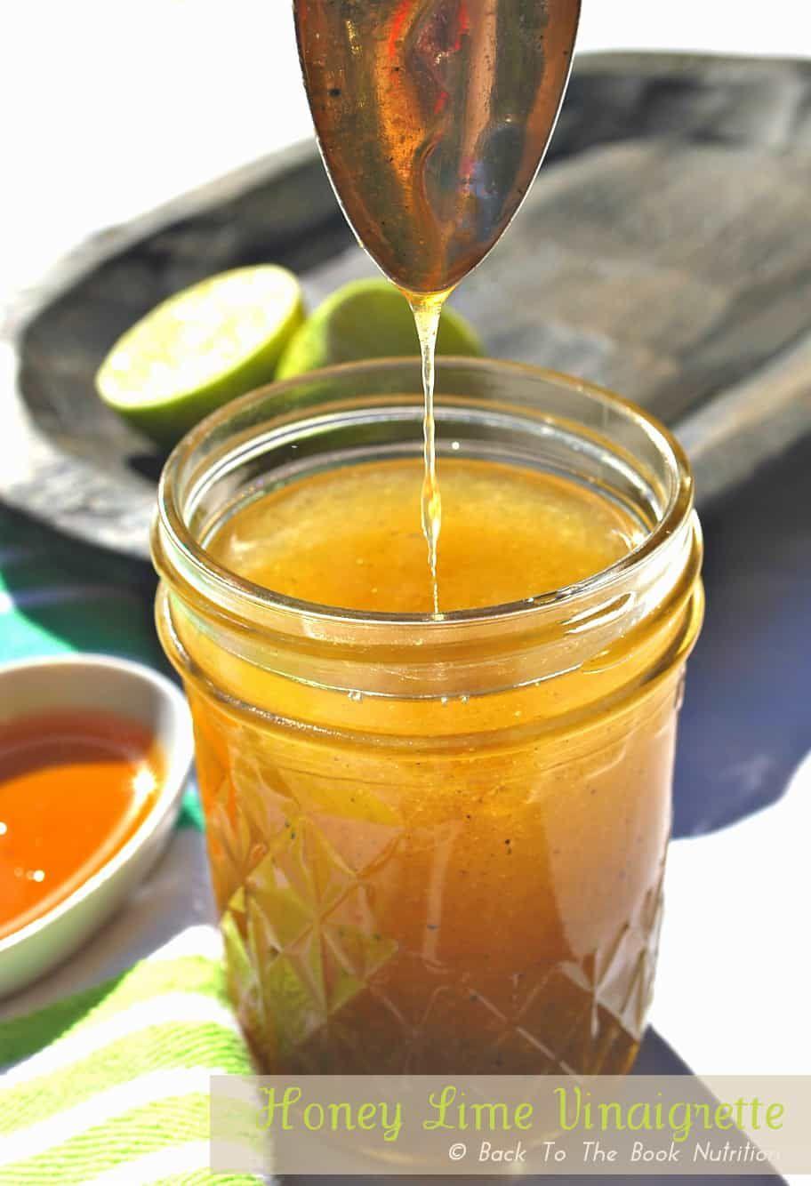 Greek dressing recipe honey lime vinaigrette lime