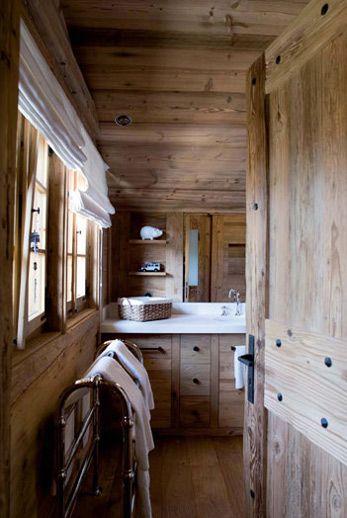 Federica Palacios Design Chalet Spa Cabin Bathroom Cabin