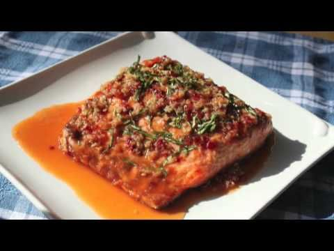 Food Wishes Recipes Garlic Ginger Salmon Recipe Grilled Salmon With Garlic Ginger And Basil Sauce Yo Sauce For Salmon Salmon Sauce Recipes Food Wishes