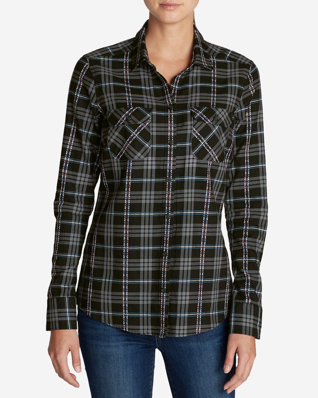 ee620ce32 Women's Stine's Favorite Flannel Shirt - Dobby   Eddie Bauer ...