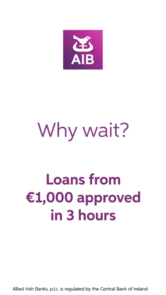 Aib Offers Personal Loans With Competitive Interest Rates With Our Quick Online Application You Can Get A Loan Approval Video Personal Loans Person Loan Application