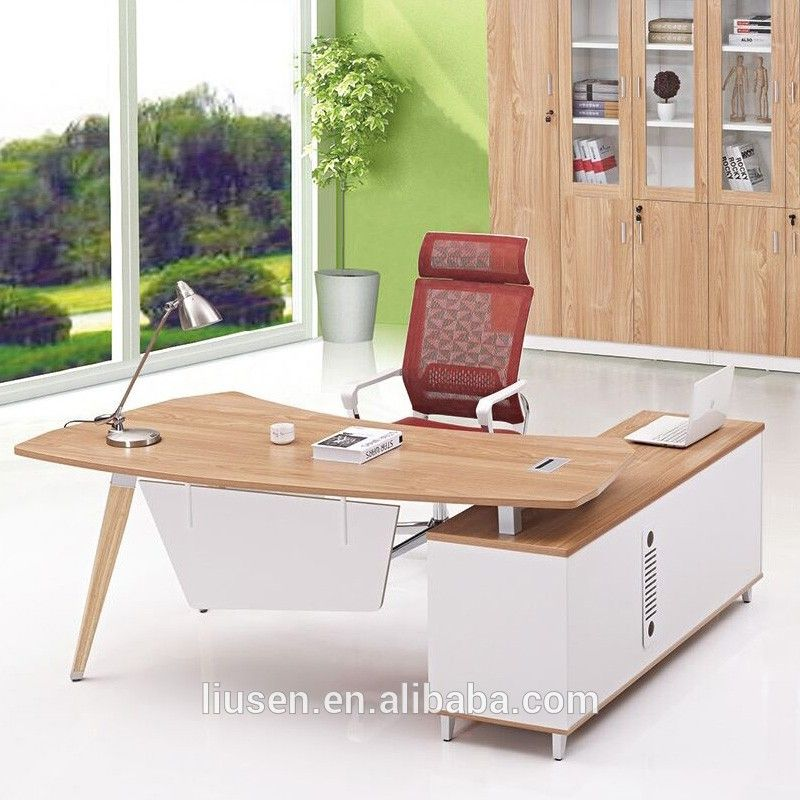 factory direct manager office furniture l-shape luxury office desk